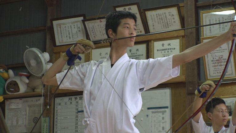 170726_インハイ 上総弓道部 稲井選手