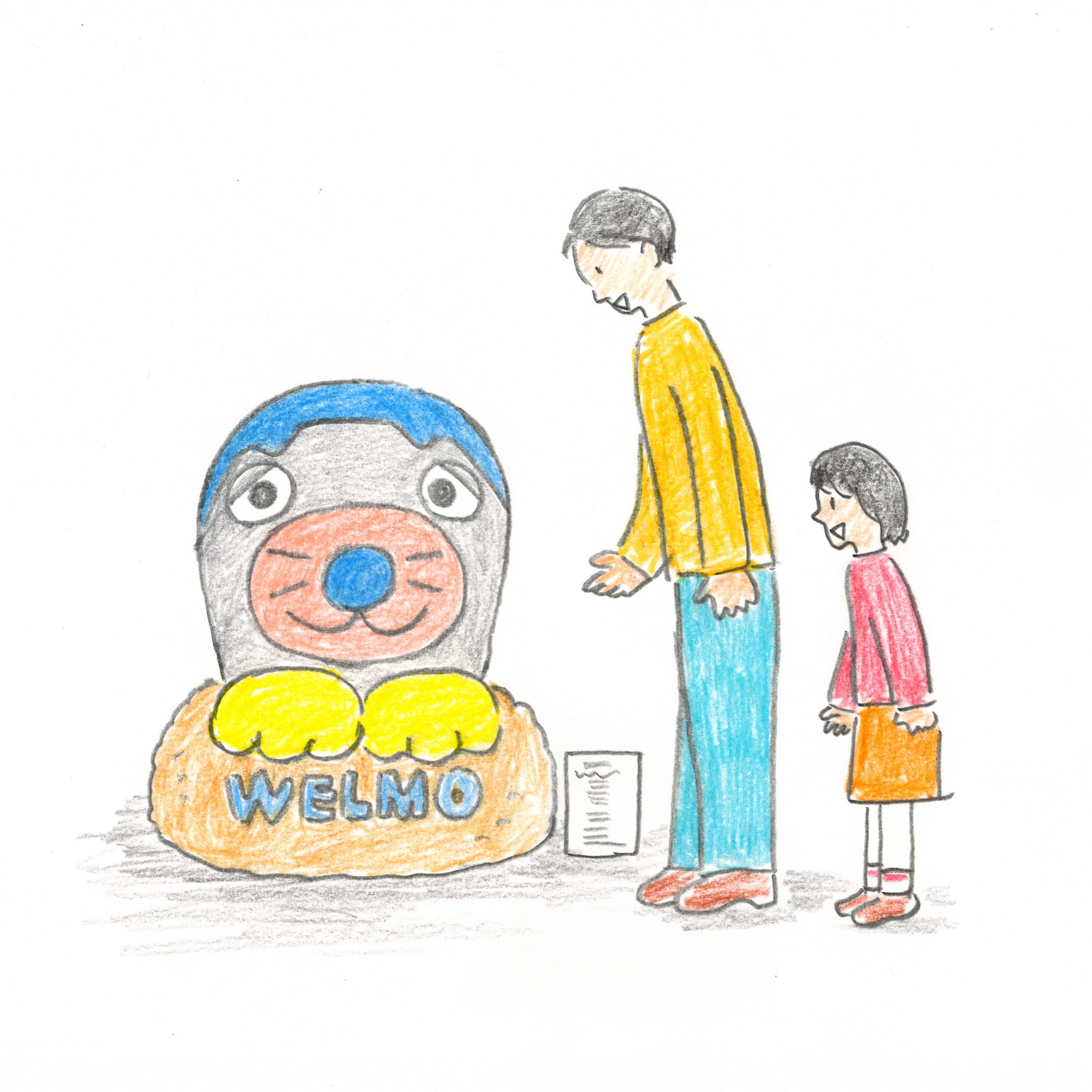 リサイズ ウェルモ立像 イメージ図