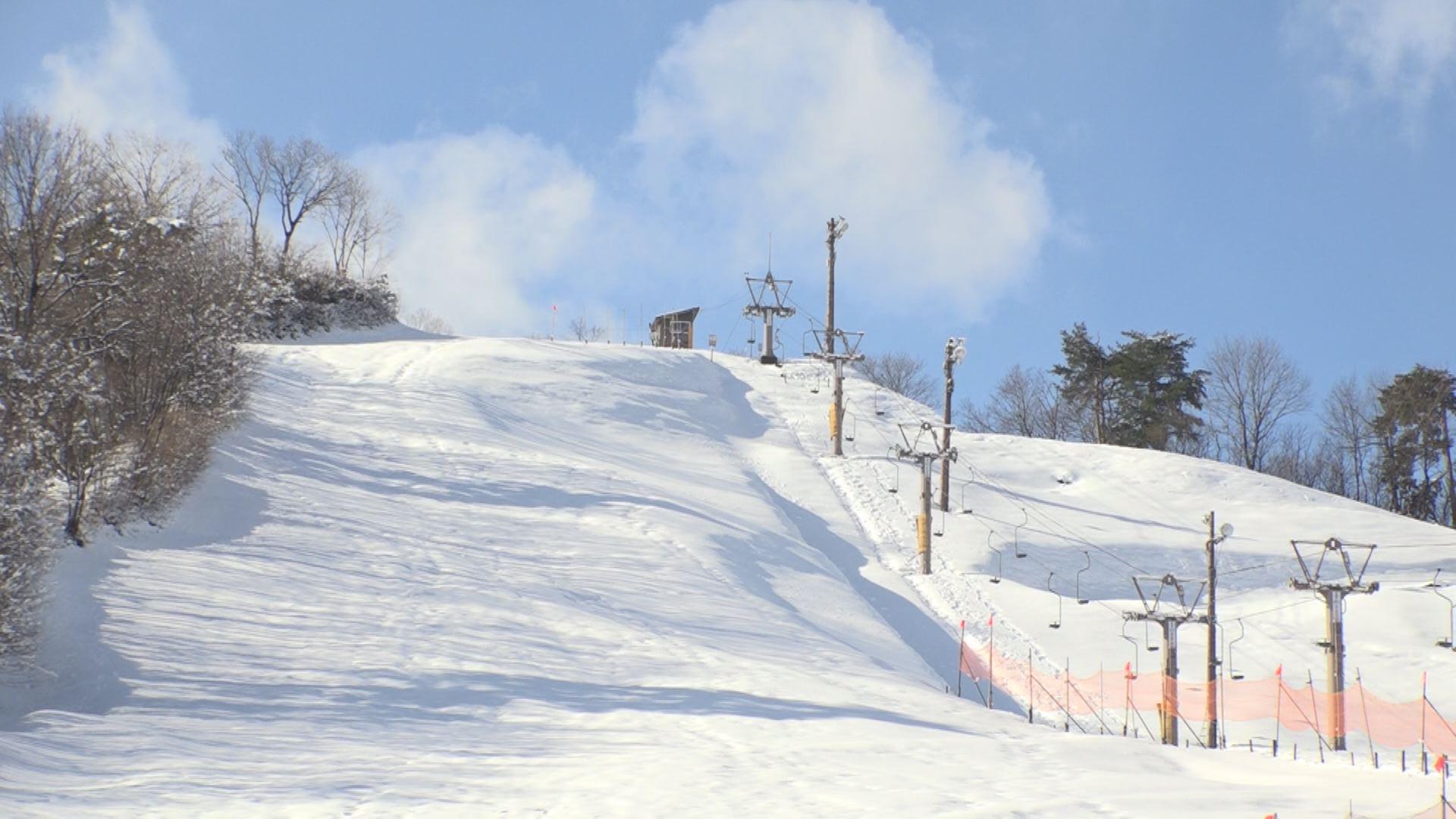 金谷山スキー場1