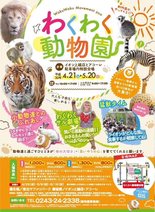 動物園チラシ
