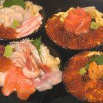 多七 海鮮丼ラインナップ