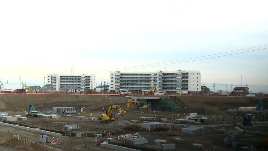 閖上地区の集合・復興公営住宅