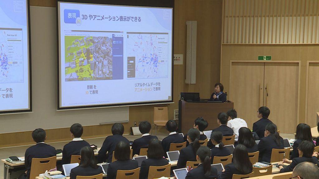 震災後に新設された災害科学科で学ぶ多賀城高校の生徒達
