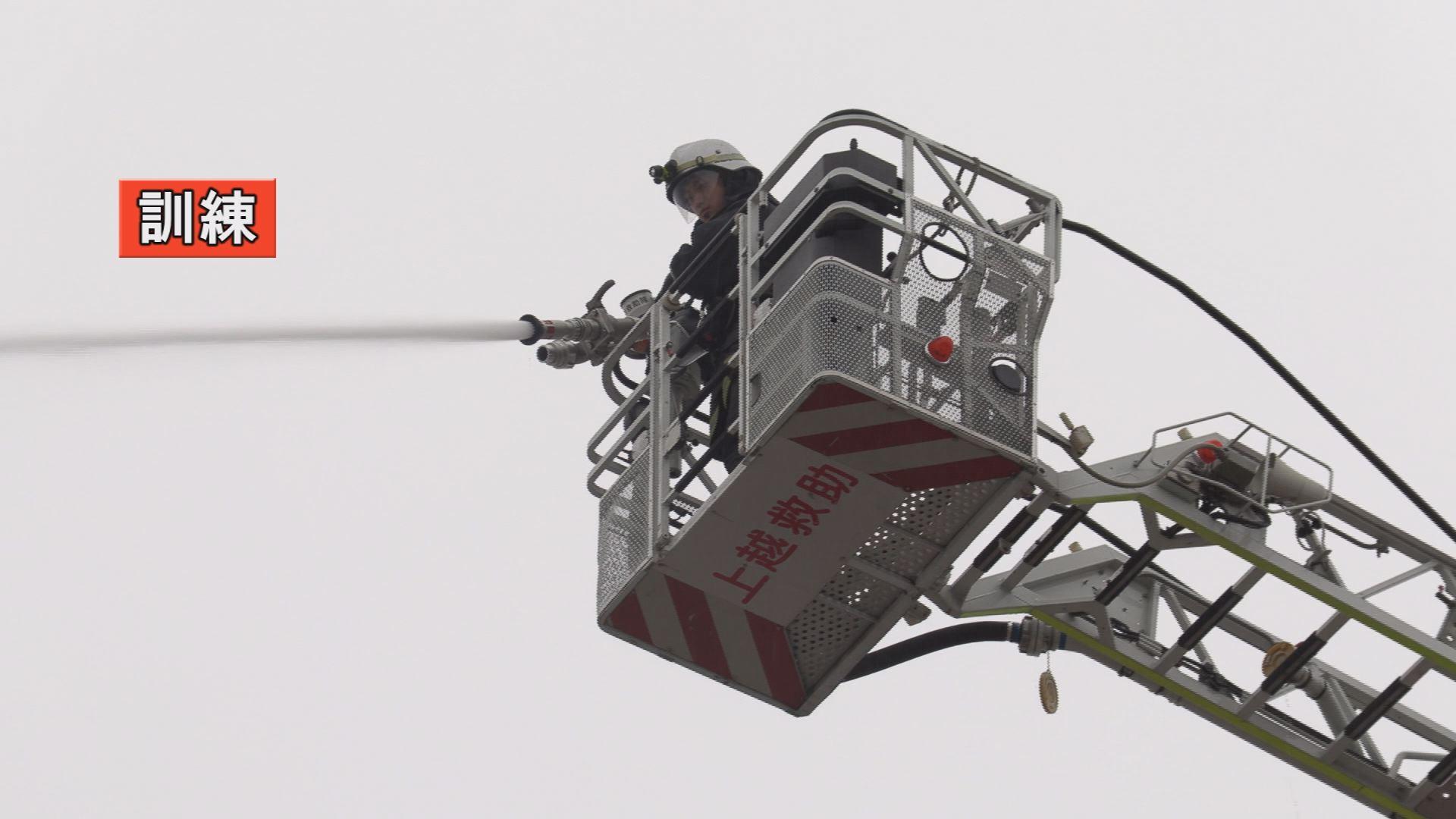 191206_金属スクラップ火災消防訓練1