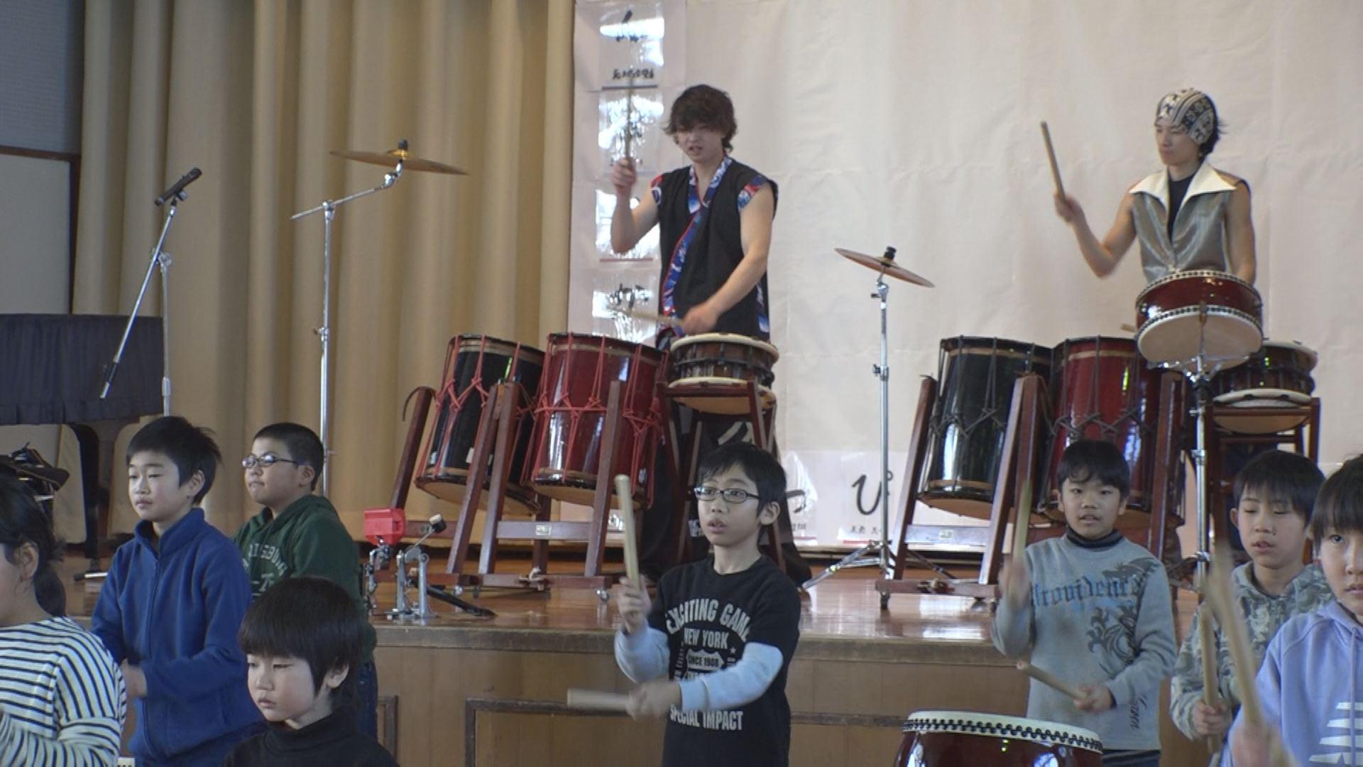 200213_古城小和太鼓演奏
