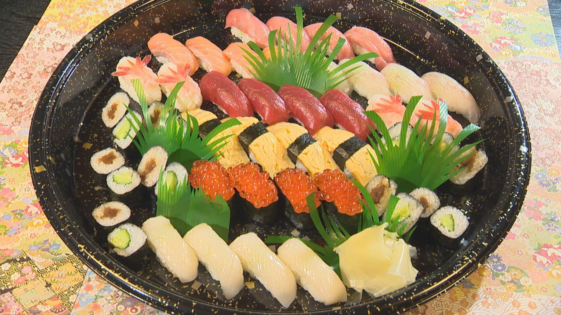 寿し芳 寿司の盛り込み