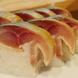 生サバ寿司