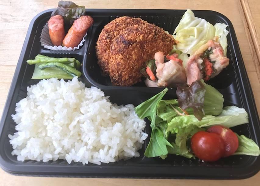 雪室男爵コロッケ&明太チーズ焼弁当