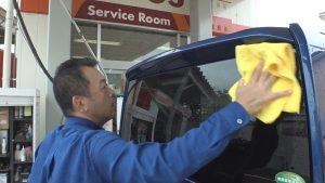 お家時間 洗車1
