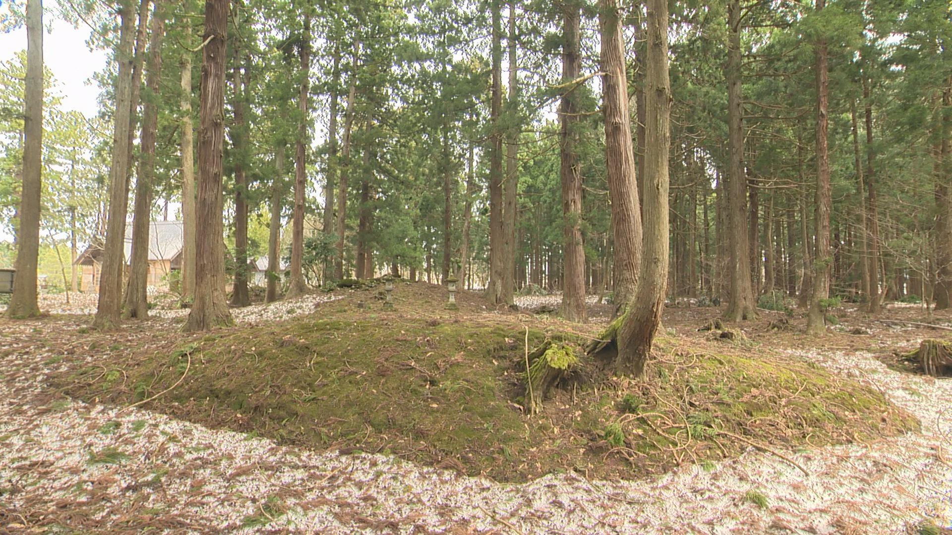 菅原神社(前方後円墳)