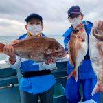 【釣り船:八坂丸】5.1+マダイ1