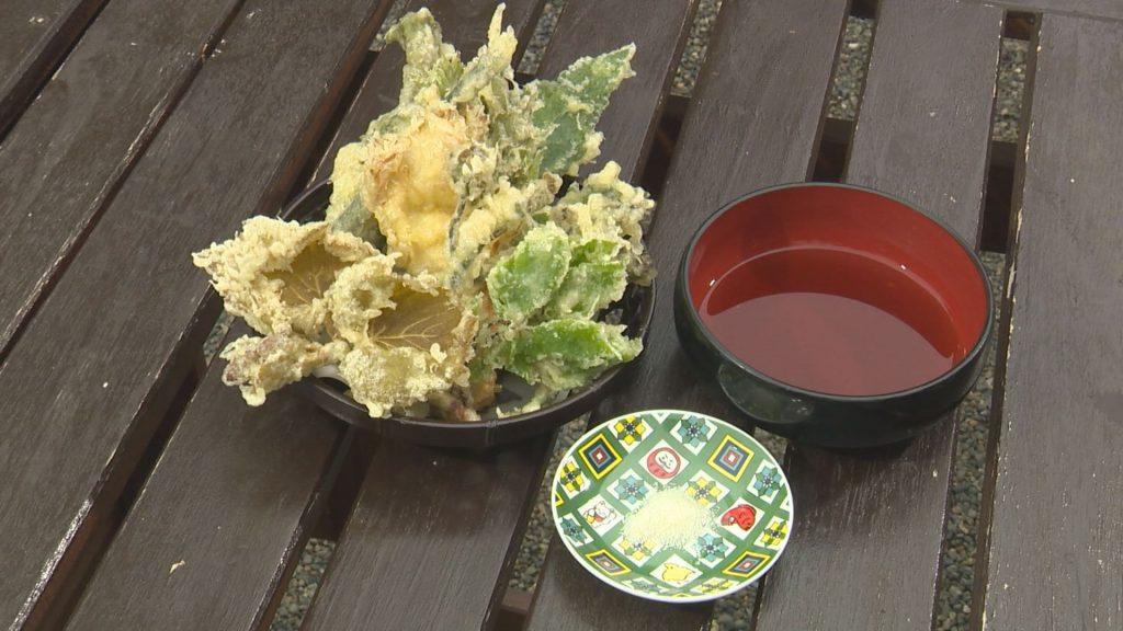 芭蕉苑天ぷら
