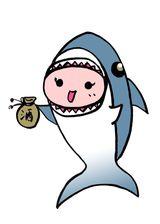 サメ子ちゃん酒