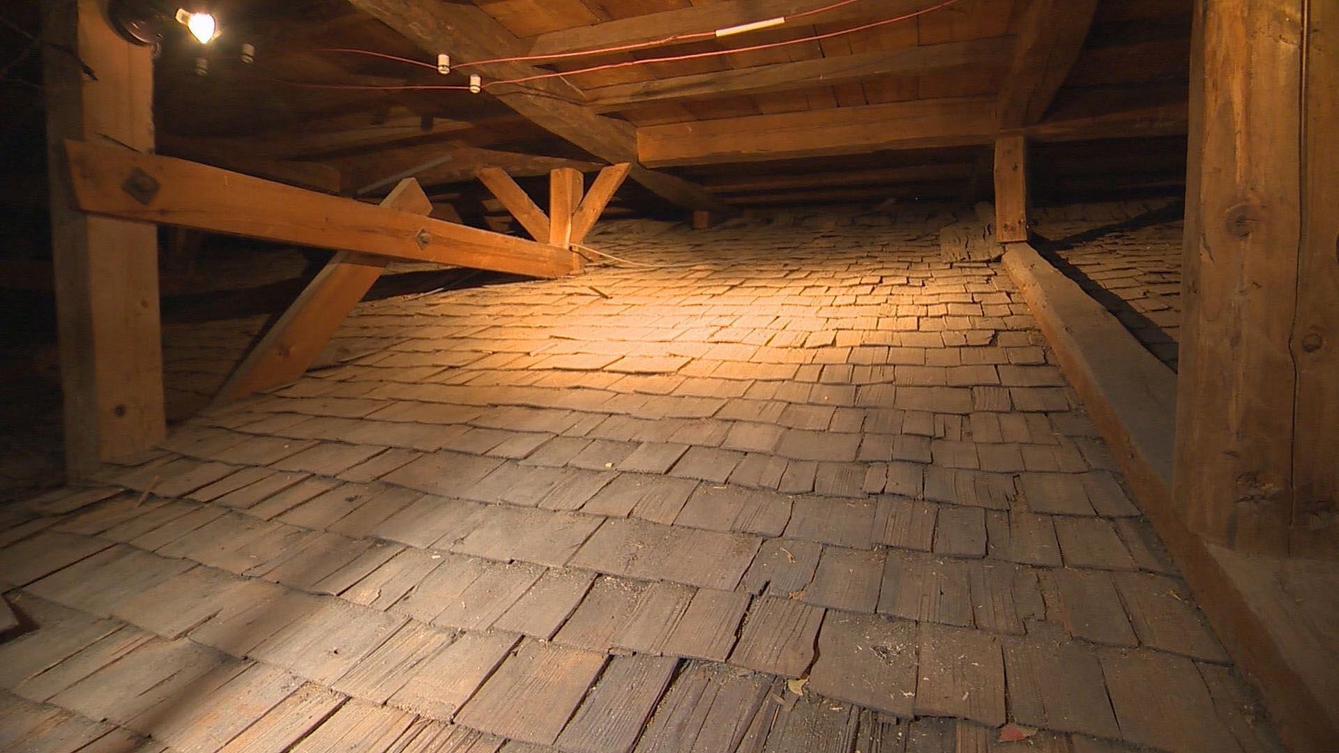 こば葺屋根