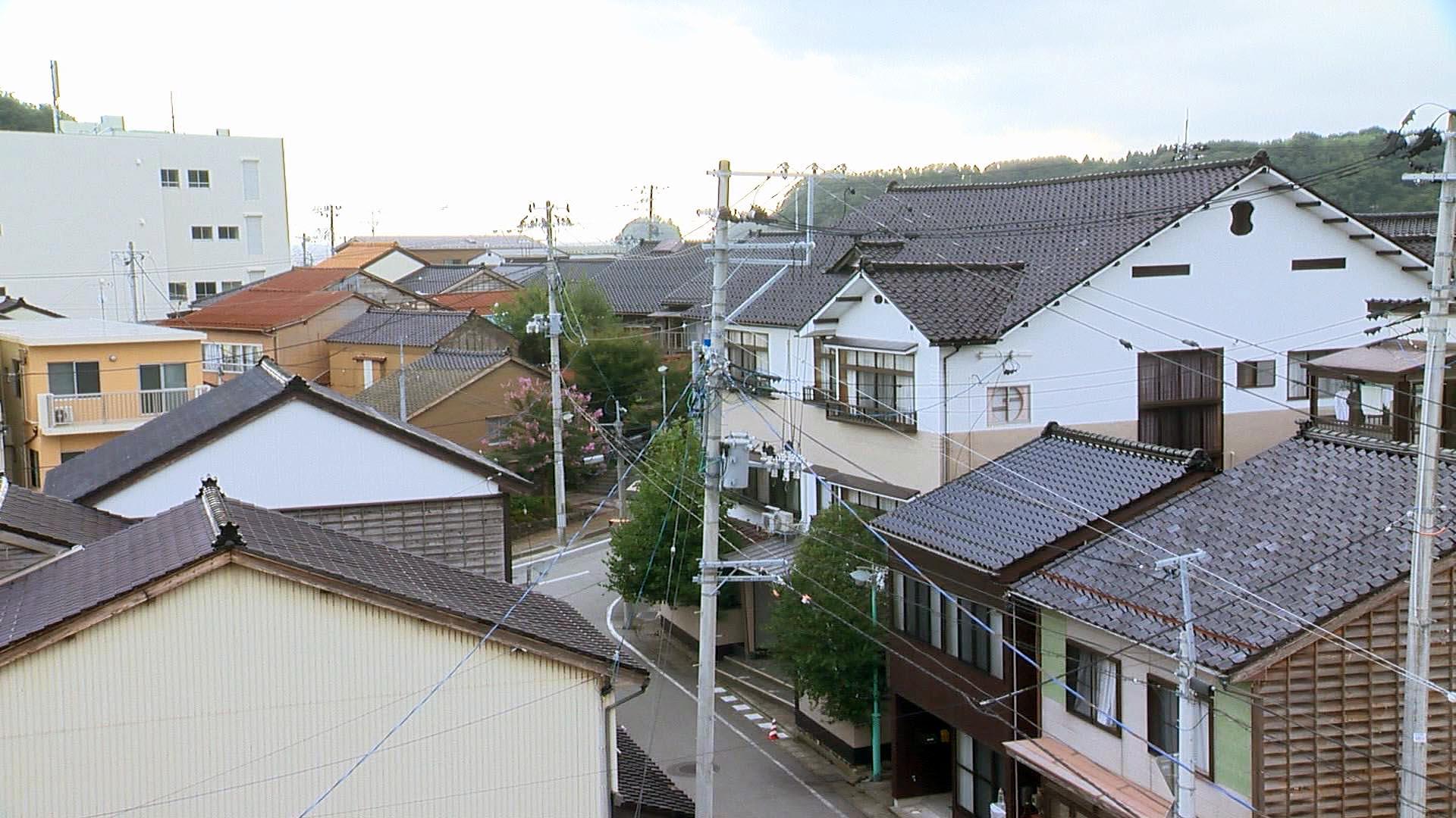 矢島経島景色